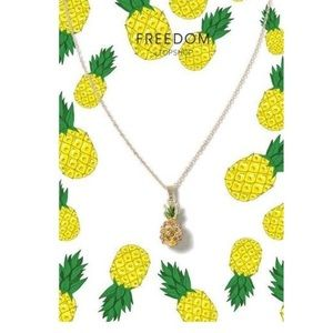 Topshop Pineapple Necklace